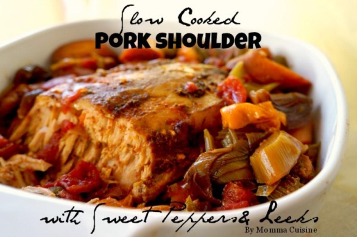 Recipe pork shoulder slow cooked