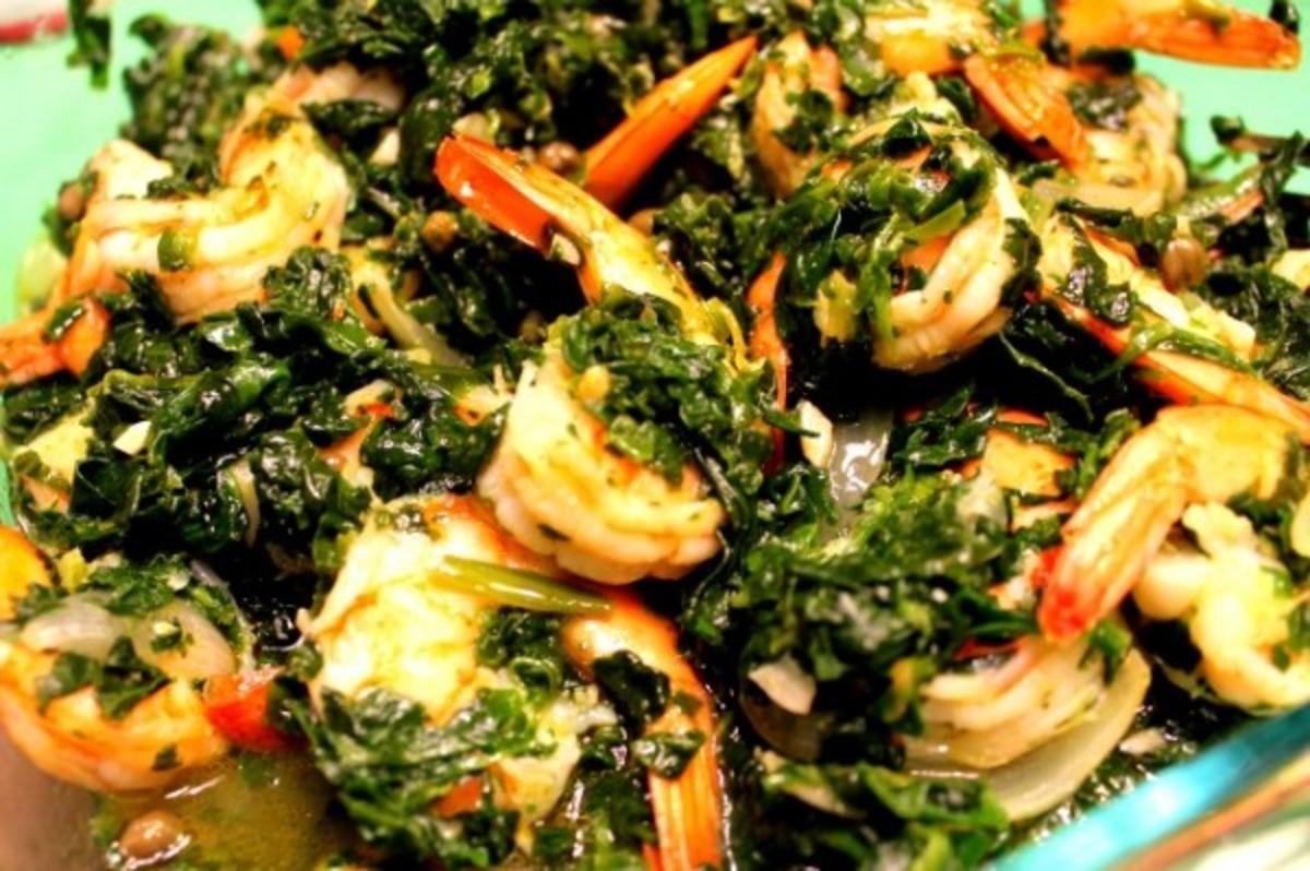 Lemon Caper Shrimp Amp Spinach Recipes