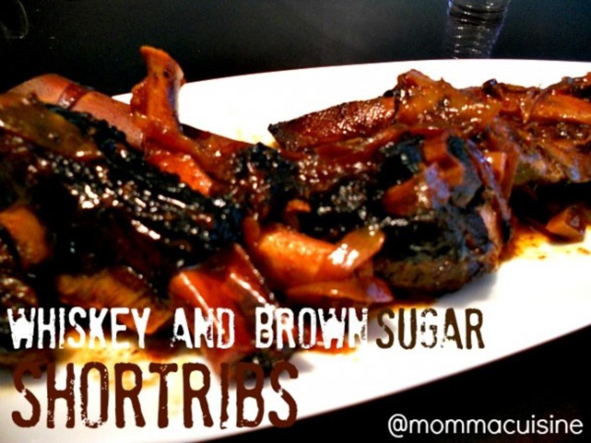 Whiskey & Brown Sugar Short Ribs - Recipes