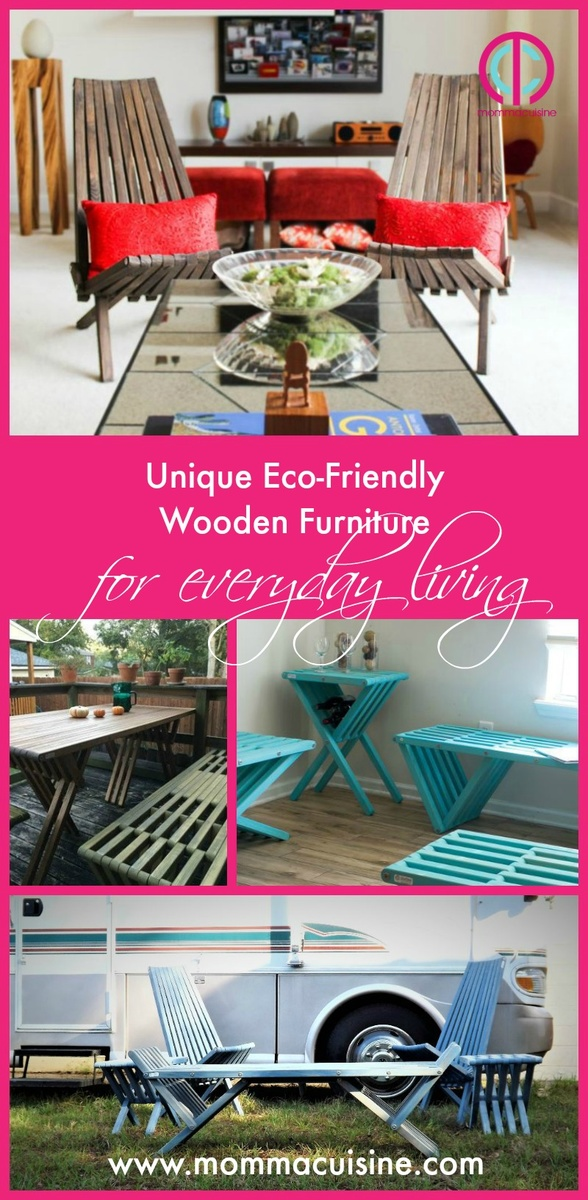 Unique Eco-Friendly Wooden Furniture For Everyday Living - Blog