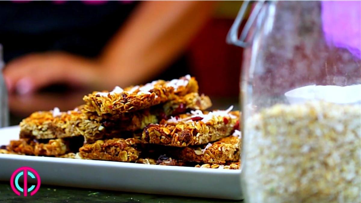 How to make homemade granola bars